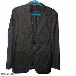 Canali 100% Wool Paramontura Jacket,US 40 Regular